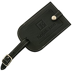 View a larger, more detailed picture of the Millennium Leather Luggage Tag
