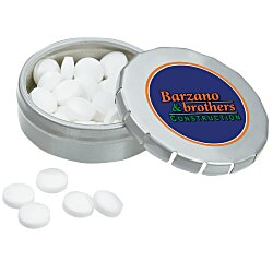 View a larger, more detailed picture of the Mini Snap-It Tin w Sugar-Free Mints