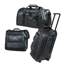 View a larger, more detailed picture of the Leather 3-piece Luggage Set