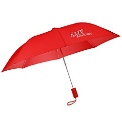 View a larger, more detailed picture of the 42 Folding Umbrella with Auto Open - Solid