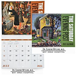 View a larger, more detailed picture of the Saturday Evening Post Calendar - Spiral