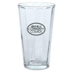 View a larger, more detailed picture of the Paneled Brewery Glass - 16 oz