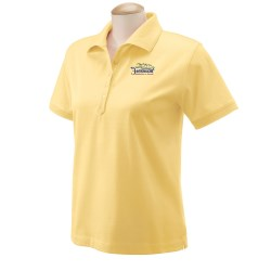 View a larger, more detailed picture of the Devon & Jones Lisle Polo - Ladies