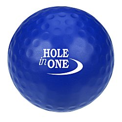 View a larger, more detailed picture of the Golf Ball Stress Ball