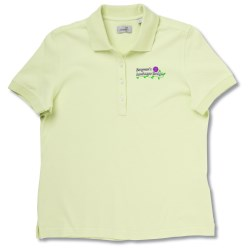 View a larger, more detailed picture of the Ashworth Classic Solid Pique Shirt - Ladies
