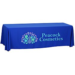 View a larger, more detailed picture of the Economy Open-Back Polyester Table Throw - 8