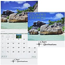 View a larger, more detailed picture of the Glorious Getaways Calendar - Spiral