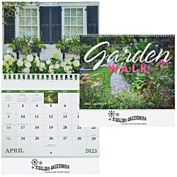 View a larger, more detailed picture of the Garden Walk Calendar - Spiral