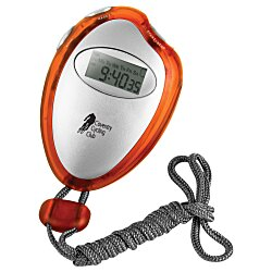 View a larger, more detailed picture of the Translucent Stopwatch with Neck Rope
