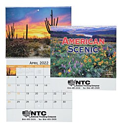 View a larger, more detailed picture of the American Scenic Appointment Calendar - Spiral