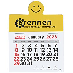 View a larger, more detailed picture of the Peel-n-Stick Calendar - Smile