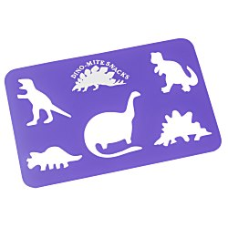 View a larger, more detailed picture of the Drawing Stencil - Dinosaurs