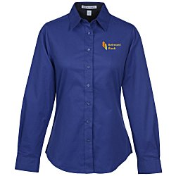 View a larger, more detailed picture of the Workplace Easy Care LS Twill Shirt Ladies