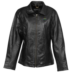 View a larger, more detailed picture of the Burk s Bay Lambskin Leather Coat - Ladies