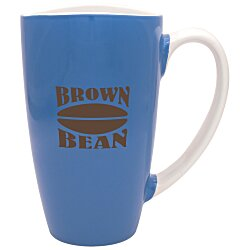View a larger, more detailed picture of the Smile Cafe Grande Mug - 17-1 2 oz