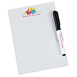 View a larger, more detailed picture of the Bic Dry Erase Magnet with Marker & Clip