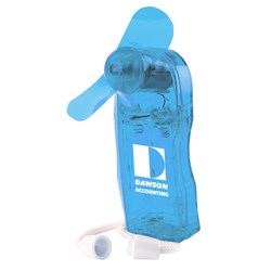View a larger, more detailed picture of the Trade Winds Mini-Fan - Translucent