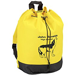 View a larger, more detailed picture of the Drawstring Tote Backpack