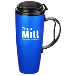 View a larger, more detailed picture of the Foam Insulated Travel Mug - 22 oz