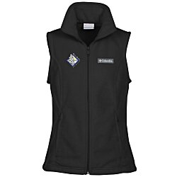 View a larger, more detailed picture of the Columbia Sportswear Fleece Vest - Ladies