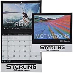 View a larger, more detailed picture of the Motivations Calendar - Stapled