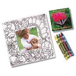 View a larger, more detailed picture of the Picture Me Coloring Magnet Frame - Bugs