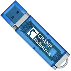 View a larger, more detailed picture of the USB 2 0 Flash Drive - 1GB - Translucent
