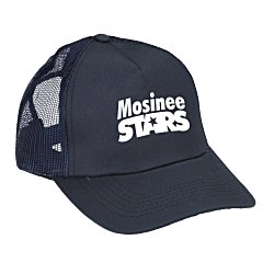 View a larger, more detailed picture of the Mesh Back Trucker Cap - Screen
