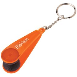 View a larger, more detailed picture of the Eyeglass Cleaner Keychain
