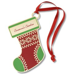 View a larger, more detailed picture of the Holiday Ornament - Stocking