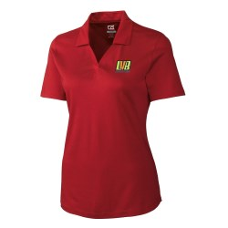 View a larger, more detailed picture of the Cutter & Buck DryTec Birdseye Polo - Ladies