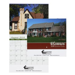 View a larger, more detailed picture of the Homes Appointment Calendar - Stapled