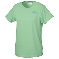 View a larger, more detailed picture of the Gildan 6 0 oz Cotton T-Shirt - Ladies - Screen - Colors