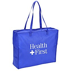 View a larger, more detailed picture of the Polypropylene Zipper Tote Bag