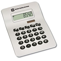 View a larger, more detailed picture of the Wavy Desk Calculator