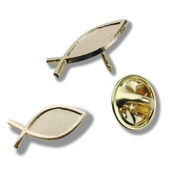 View a larger, more detailed picture of the Lapel Pins - Fish - Unimprinted