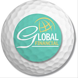 View a larger, more detailed picture of the Action Mouse Pad - Golf Ball