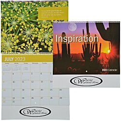 View a larger, more detailed picture of the Inspirational Calendar - Spiral