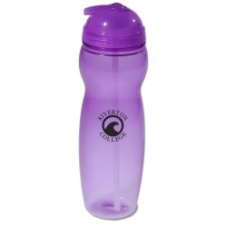 View a larger, more detailed picture of the Translucent Sport Bottle - 22 oz