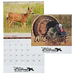 View a larger, more detailed picture of the Wildlife Calendar - Spiral