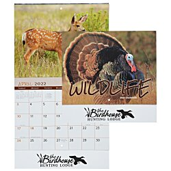 View a larger, more detailed picture of the Wildlife Calendar - Stapled