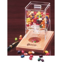 View a larger, more detailed picture of the Desktop Dispenser w Jelly Belly Assortment