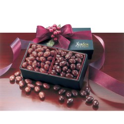 View a larger, more detailed picture of the Dark & Milk Chocolate Covered Almonds