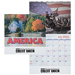 View a larger, more detailed picture of the American Visions Calendar - Stapled - 24 hr