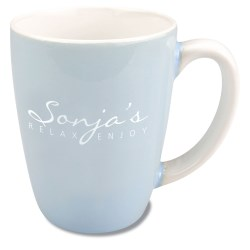 View a larger, more detailed picture of the Pastel Two-Tone Mug - 12-1 2 oz