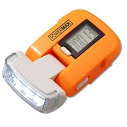View a larger, more detailed picture of the Pedometer w Light