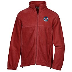 View a larger, more detailed picture of the Harriton Full Zip Fleece - Men s