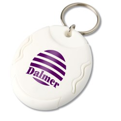View a larger, more detailed picture of the Pill Dispenser Key Tag - Opaque