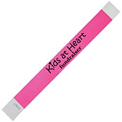 View a larger, more detailed picture of the Tyvek Wristband - 1