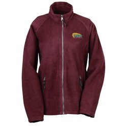 View a larger, more detailed picture of the Katahdin Tek Fleece Jacket - Ladies - Closeout